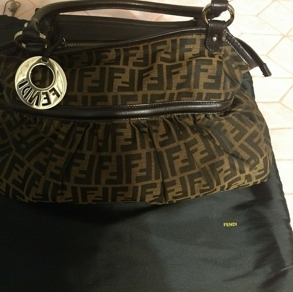 Fendi Bags   Sold Giant Chef Zucca Tote Sold   Poshmark e27d991d95